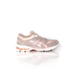 Asics Kayano 26 Fawn/ Rose Gold Womens Road Running Shoe
