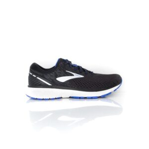 Brooks Ghost 11 (2E) Black/Silver/Blue Mens Road