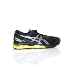 Asics Nimbus 21 Black/Lemon Spark Mens Road Running