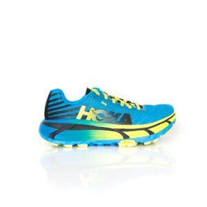 Hoka Evo Mafate Cyan/Citrus Womens Trail Running