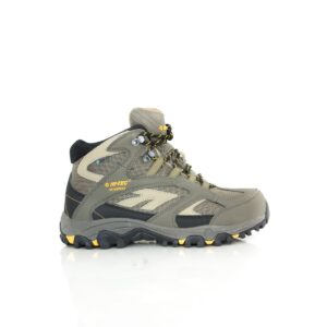 Hi-Tec Lima Sport II Mid WP Taupe/Dune/Core Gold Mens Waterproof Hiking Shoe