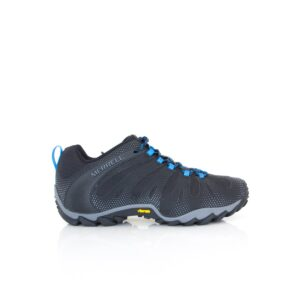 Merrell Chameleon 8 Flux Black Mens Walking Hiking Vibram