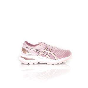 Asics Nimbus 22 Wide (D) Watershed Rose/ Rose Gold Womens Road Running Shoe
