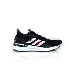 Adidas Ultraboost PB Core Black/Glory Pink/Cloud White EF0182 Womens Road Running