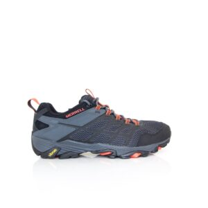 Merrell Moab FST 2 Black/Granite Mens Hiking Shoe Vibram