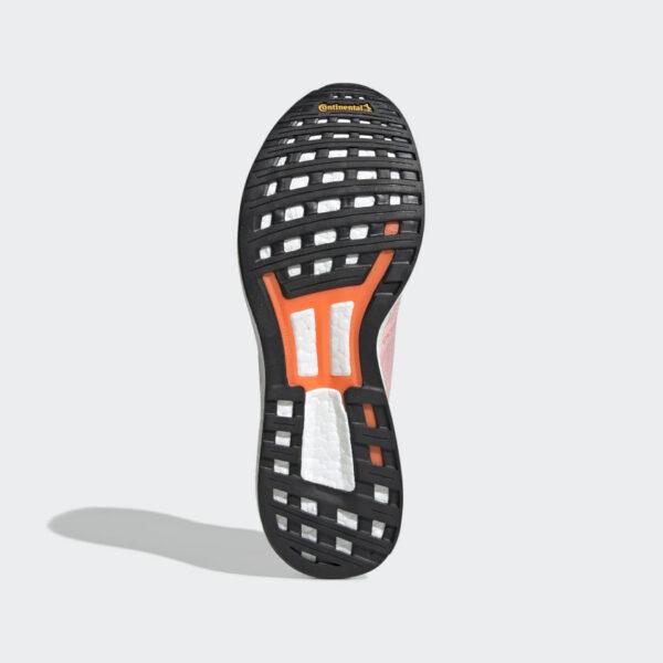 Adidas Adizero Boston 8 Cloud White/Collegiate Navy/Solar Orange F34054 Womens