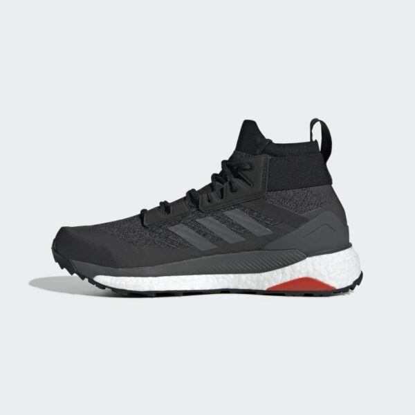 Adidas Terrex Free Hiker Core Black/Grey Six/Active Orange D97203 Mens