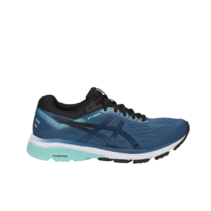 Asics GT-1000 7 Wide (D) Grand Shark/Black Womens