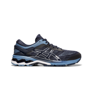 Asics Kayano 26 (2E) Midnight/Grey Floss Mens