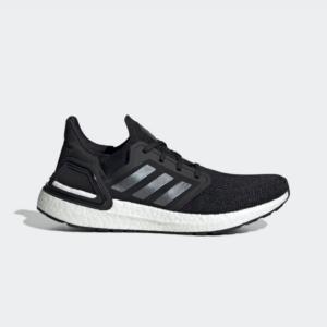 Adidas Ultraboost 20 Core Black/Night Metallic/Cloud White EF1043 Mens