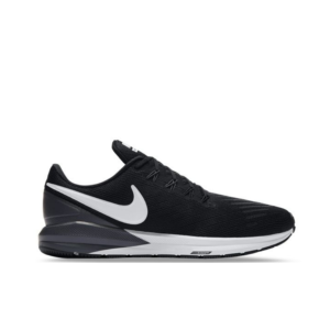 Nike Air Zoom Structure 22 Black/White Gridiron AA1636 002 Womens