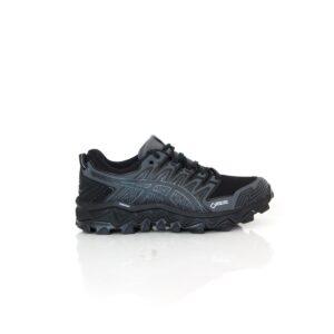 Asics Gel-Fuji Trabuco 7 GTX Black/ Dark Grey Womens Trail Running Shoe