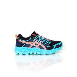 Asics Fuji Trabuco 7 (D) Aquarium/Blue Expanse Womens Trail Running Shoe