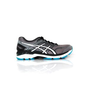 Asics GT- 2000 5 (4E) Carbon/Silver/Island Blue Mens Road running shoe