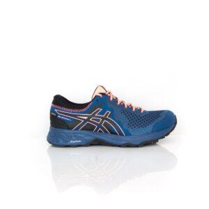 Asics Sonoma 4 GTX Black/ Sun Coral Womens Trail Running Shoe