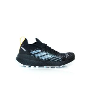 Adidas Terrex Two Ultra Parley Core Black/Dash Grey/Blue Spirit EH0081 Womens Trail Running