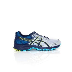 Asics Sonoma 3 Wide (D) Mid Grey/Blue Womens Trail Running Shoe