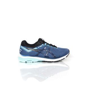 Asics GT-1000 7 Wide (D) Grand Shark/Black Womens Road Running Shoe