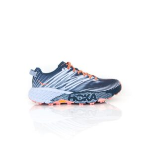 Hoka Speedgoat 4 Majolica Blue/ Heather Womens Trail Running