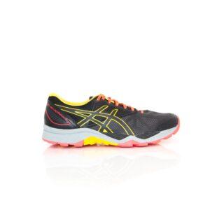 Asics Trabuco 6 Black/Orange Womens Trail Running Shoe