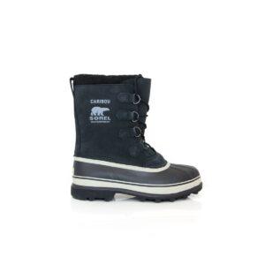 Sorel Caribou Black Dark Stone Mens Waterproof Boot