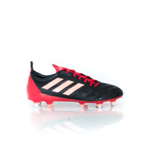 Adidas Malice (SG) Core Black / Signal Coral / Scarlet EH0143 Rugby Boots