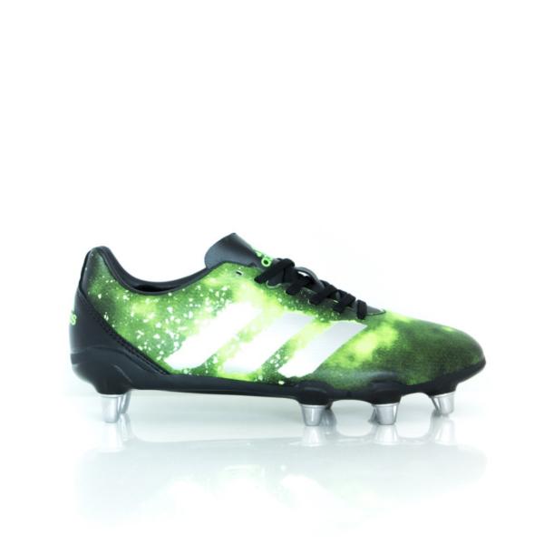 Adidas Kakari Elite (SG) Core Black/Silver Metallic/Solar Green BA9041