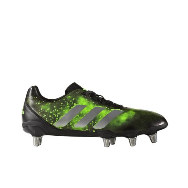Adidas Kakari (SG) Core Black/Silver Metallic/Solar Green BA9041