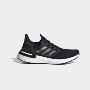 Adidas Ultraboost 20 Core Black/Night Metallic/Cloud EG0714 White Womens