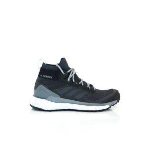 Adidas Terrex Free Hiker Core Black/Solid Grey/Real Gold EF2344 Womens Lightweight Walking Shoe