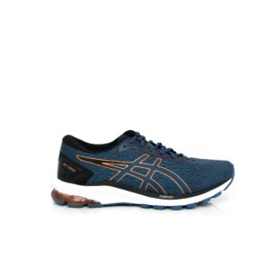 Asics GT-1000 9 (2E) Grand Shark/Pure Bronze Mens Road Running Shoe