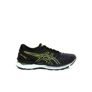 Asics Nimbus 22 Carrier Grey/Lime Zest Mens Road Running Shoe