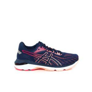 Asics Pursue 5 (D) Blue Expanse/Laser Pink Womens Road Running