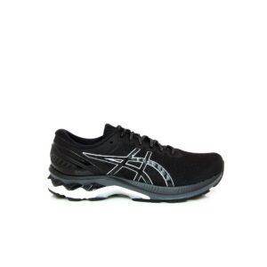 Asics Kayano 27 Black/Pure Silver (D) Womens Road Running