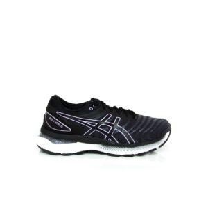 Asics Nimbus 22 Black/Lilac Tech Womens Road Running