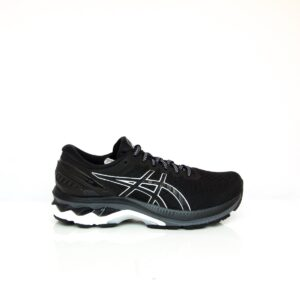 Asics Kayano 27 (2E) Black/Pure Silver Mens Road running mens