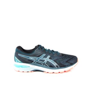 Asics GT-2000 8 (2E) Black/Magnetic Blue Mens Road Running Shoe
