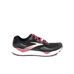 Brooks Cascadia 15 Black/Coral Womens Trail Running Shoes