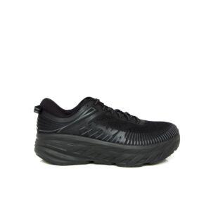 Hoka Bondi 7 (D) Black/Black Womens Road Running Shoe