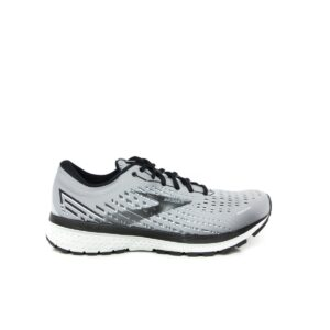 Brooks Ghost 13 (2E) Grey Mens Road Running Shoe