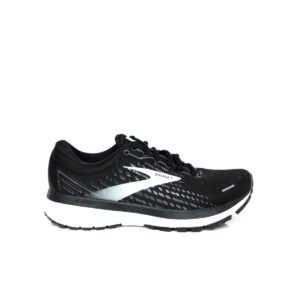 Brooks Ghost 13 (D) Black/White Womens Road Running Shoe