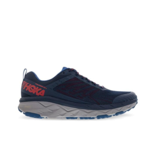 Hoka Challenger ATR 5 (2E) Dark Blue/High Risk Red Mens