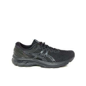 Asics Kayano 27 Black/Black Womens Road Running Shoe