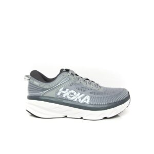 Hoka Bondi 7 Wild Dove/Dark Shadow Mens Road Running