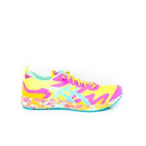 Asics Noosa Tri 12 Safety Yellow/Aquarium Womens Triathlon Racing Shoe