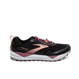 Brooks Cascadia 15 Black/Coral Womens