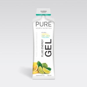 Pure Energy Gel - Lemon Lime (+ Caffeine) 50g