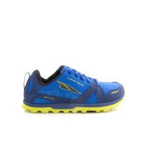 Altra Lone Peak Youth Blue/Lime Kids Trail Shoe