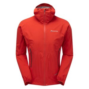 Montane Minimus Stretch Ultra Waterproof Jacket Flag Red Mens