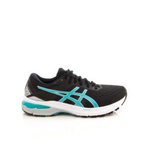 Asics GT-2000 9 (D) Black/Techno Cyan Womens Road Running Shoes